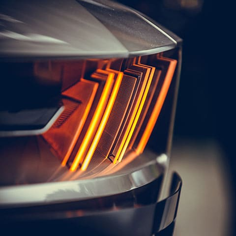 PMMA Formmassen Automobilanwendung